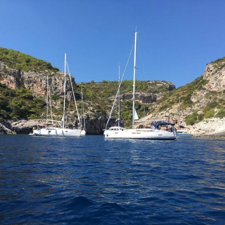 Segel-Ausflug auf Hvar in Kroatien